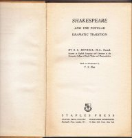 Shakespeare and the popular dramatic tradition