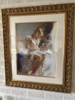 Art Giclee on paper by Pino,